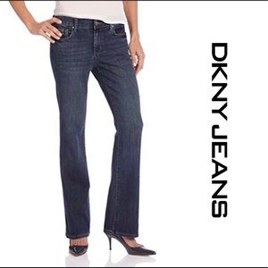 DKNY BLUE JEANS PETITES WOMEN SIZE 2L/G